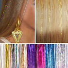 Fashion Clip In On Colorful Hair piece Cosplay Synthetic Straight Hair Extension