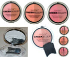 Technic Cheek Sculpt Face Contouring Blusher & Brush & Mirror Glow Peachy Rosy