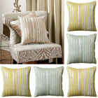 Scatter Box Dawn Stripe Chenille Feather Filled Cushion