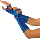 DC Comics Supergirl Costume Gauntlets Adult One Size