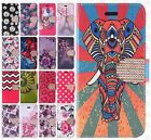 For Alcatel Fierce 4 Premium Leather Wallet Pouch Flip Case Cover +Screen Guard
