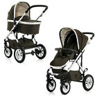 MOON *2017* NUOVA-City 2 in 1 Stroller & Carrycot Newborn Pram Baby Pushchair
