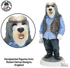Bearded Collie Biker Robert Harrop Doggie People Dog Figurine Statue DP261