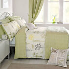Dreams 'N' Drapes Botanique Vintage Floral Duvet Cover Set, Green