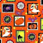 HALLOWEEN PATCH GHOST SPIDERS BATS CATS PUMPKIN GOTH FABRIC Free Oz Post