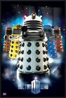 DOCTOR WHO - FRAMED TV SHOW POSTER / PRINT (UPGRADED DALEKS) (DR. WHO)