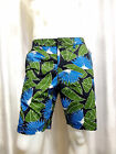 American Rag Cie SLIM Fit Tropical print flat front shorts 32 33 34 36 38 40 NEW