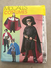 McCalls Sewing Pattern 3746 Child or Men's Costume Pirate Masked Avenger Vampire