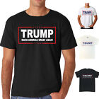Men Trump President Make America Great Again T-Shirt Top Blouse UK Casual Great