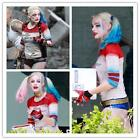 Suicide Squad Daddy's Coat Lil Monster Cosplay Jacket T-Shirt Lot FHarley Quinn