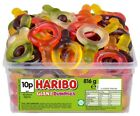 2 FULL TUBS OF HARIBO SWEETS WHOLESALE DISCOUNT FAVOURS TREATS PARTY CANDY KIDS
