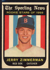 1959 Topps #146 Jerry Zimmerman RS RC - EX *004-637