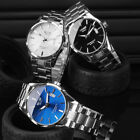 Fashion Stainless Steel Men Army Military Sport Date Analog Quartz Wrist Watch