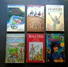 ROALD DAHL Lot of 6 PB Charlie James Witches Matilda Boy Henry Sugar