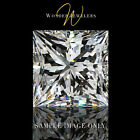0.58Ct Princess Cut Loose Diamond GIA Certified G/VVS2 + Free Ring (5171484302)