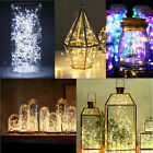 Fashion 1M 10 LED Battery Power Operated Copper Wire Mini Fairy Light String