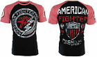 AMERICAN FIGHTER Men T-Shirt ALLEN ARTISAN Athletic BLACK Biker Gym MMA UFC $40