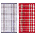 Catherine Lansfield Home Heritage Check 100% Cotton Jacquard Hand Towel