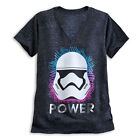 Disney Store Star Wars Stormtrooper Art V Neck Womens T Shirt Size XS S 2XL NWT $24.11 CAD on eBay