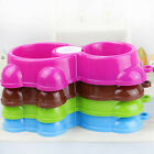 New Candy Color Dog Cat Pet Bowls Feeder Puppy Drink Food Water Bowl Useful