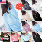 Womens Loose Pullover T Shirt Long Sleeve Cotton Tops Lace-up Shirt Blouse Tops
