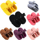 Cute Baby Infant Girl Boy Newborn Soft Sole PU Leather Crib Shoes Moccasin 3Size