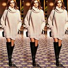 New Casual  Long Sleeve Sweater Women Knitwear Pullover Jumper Tops N98B EN24H