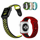 Replacement NEW Silicone Sports Bracelet Strap For Apple Watch Bands Series 2/1