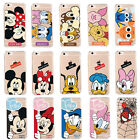 Anime Comic Mickey Minnie Novelty Soft Silicone Phone Cover Case For iPhone