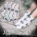 Japan lolita cartoon fantasy household giddy print ankle socks【JMA7038】