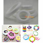 XMAS Polystyrene Styrofoam Foam Ring DIY Accessory Handmade Party Decorations