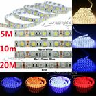 5050 SMD 300leds/5M Flexible LED Strip Ribbon Lights Lamp for Trucks Boat Garden