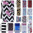 Retro Pattern PU Leather Card Slots Wallet Stand Case Cover For Samsung Galaxy