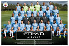 Manchester City Team Squad Photo 2016 - 2017 Poster New - Maxi Size 36 x 24 Inch