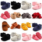 HOT Infant Newborn  Soft Sole Boots Toddler Baby Girl Tassel Moccasin Crib Shoes