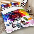 Skull Duvet/Quilt/Doona Cover Set Queen Super King Single Size Floral Bed Covers