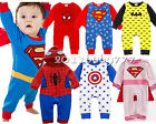 1pc baby boy clothes cotton one-piece party daily chirstmas bodysuit superhero