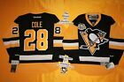 #28 Ian Cole New Home Pittsburgh Penguins Reebok Hockey Jersey w/ 50th Patch NHL