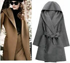 Women's Winter OVERSIZE COAT Fashion Hooded Long Sleeve Overcoat Coat Outerwear