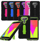 For LG V20 Impact Heavy Duty Stand Hybrid Cover Case Phone Protector