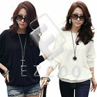 Women Casual Cotton T-shirt Hollow Bawing Long Sleeve Loose Tops Blouse