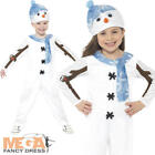 Snowman Toddler Fancy Dress Christmas Snow Girls Boys Nativity Costume Outfit