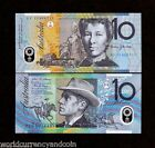 AUSTRALIA 10 DOLLARS P58 2015 HORSE POLYMER UNC CURRENCY MONEY ANIMAL BANK NOTE