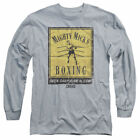 T-Shirts Size S-2XL New Mens Rocky Creed Mick's Gym Poster Long Sleeve T-Shirt