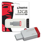 Kingston Data Traveler DT50 USB 3.0 Flash Drive Memory Sticks 8-16-32-64-128GB