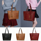 New Women's Tassel Large Leather Handbag Shoulder Bag Messenger Tote Bag Satchel
