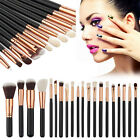 Pro Makeup Foundation Brushes Set Powder Eyeliner Eyeshadow Brush Lip Brush Tool