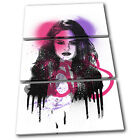 Selina Gomez Grunge Urban Musical TREBLE CANVAS WALL ART Picture Print