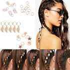 5Pcs Circle Barrette Hairpin Hoop Ring Dreadlock Updo Leaf Star Hair Accessories