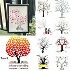 Fingerprint Tree Wedding Gust Book Alternative Inkpad Event Chalkboard Board